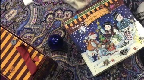 Коробка Снеговички. видео